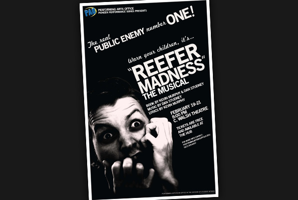 <em>Reefer Madness: The Musical</em> Poster